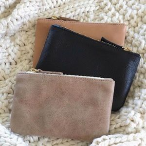 Leather Crissy Pouch